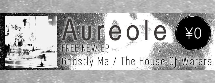 kilk recordsの雄、Aureoleの2年振りとなる新作は無料配信のシングルで、シェアできる「サウンドシェアコード」仕様で発表。